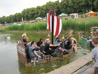 Leipzig und Umgebung - Wikingerboot